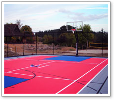 Backyard Multi Sport Court - talentneeds.com - on recreational backyard ideas, soccer backyard ideas, family backyard ideas, beach backyard ideas, outdoor backyard ideas, football backyard ideas, camping backyard ideas, golf backyard ideas, fencing backyard ideas, paintball backyard ideas, home backyard ideas, pool backyard ideas, southern living backyard ideas, sports backyard ideas, playground backyard ideas,
