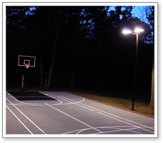 Maryland components basketball courts net systems rebounder fence basketball court lighting aloadofball Choice Image